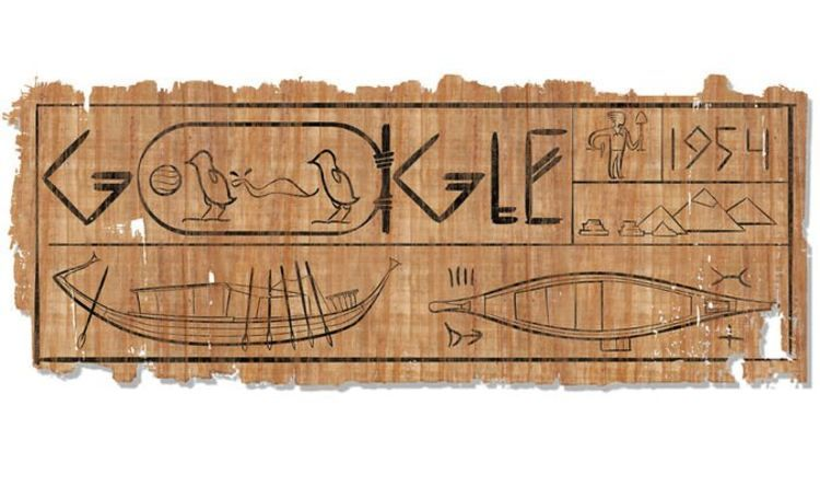 Khufu Ship is the Google Doodle of the Day! Did Yo